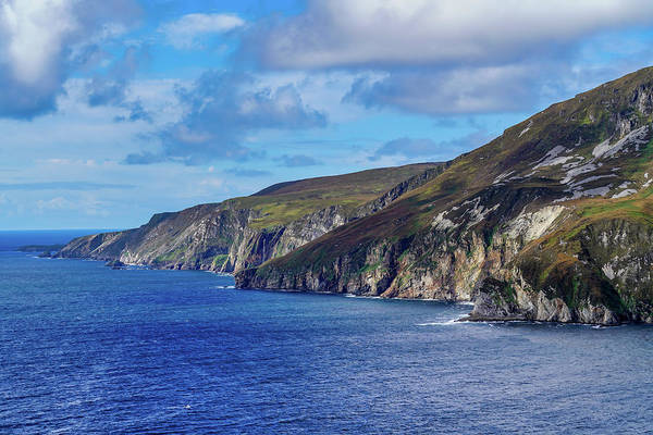 Blue Wall Art - Photograph - The Cliffs by Ric Schafer