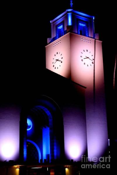 Photograph - The Clock Tower by Jenny Revitz Soper