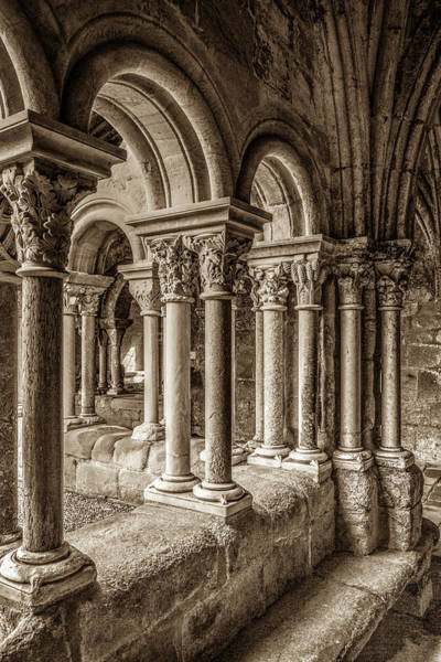Wall Art - Photograph - The Cloister Of Fontfroide Abbey by W Chris Fooshee
