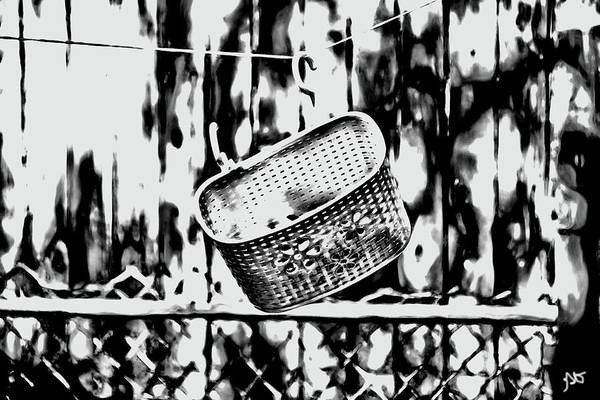 Photograph - The Clothesline Basket by Gina O'Brien