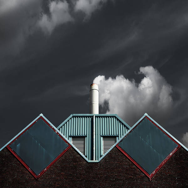 Symmetry Wall Art - Photograph - The Cloud Factory by Gilbert Claes