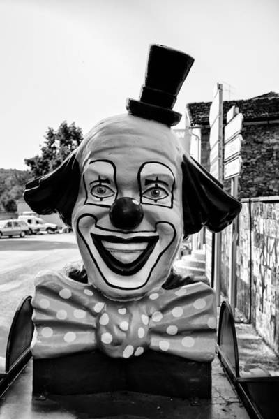 The Joker Photograph - The Clown Comes To Town by Georgia Fowler