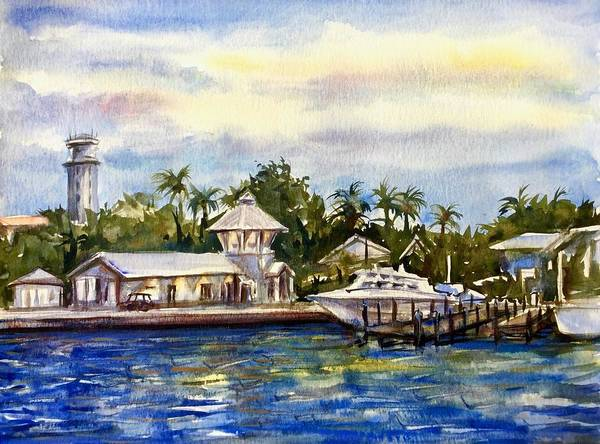 The Coast Of Nassau Art Print