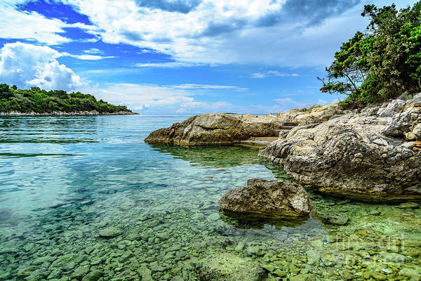 Photograph - The Coast Of Rab, Croatia by Global Light Photography - Nicole Leffer