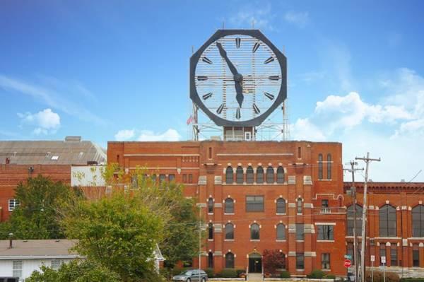 Colgate Wall Art - Photograph - The Colgate Clock  by Art Spectrum