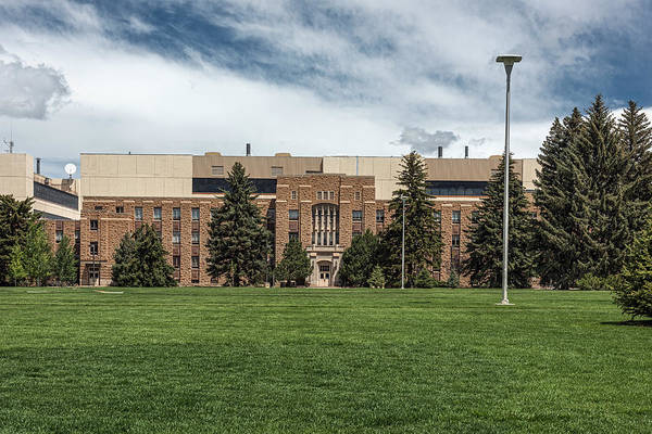 Laramie Photograph - The College Of Architecture - University Of Wyoming by Mountain Dreams