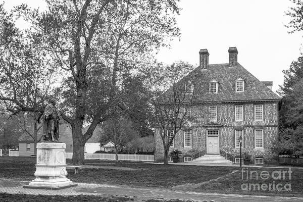 Photograph - William And Mary President's House by University Icons