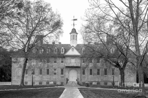 Williamsburg Photograph - William And Mary Wren Building by University Icons