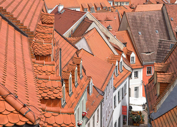 Andreas Photograph - The Color Of These Roofs... by Andreas Feldtkeller
