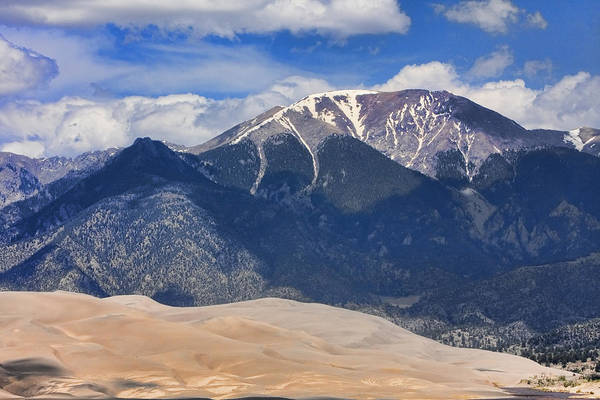Photograph - The Colorado Great Sand Dunes  125 by James BO Insogna