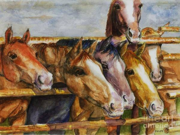 The Colorado Horse Rescue Art Print