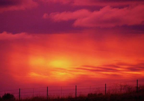 Wall Art - Photograph - The Colored Sky by Jeff Swan