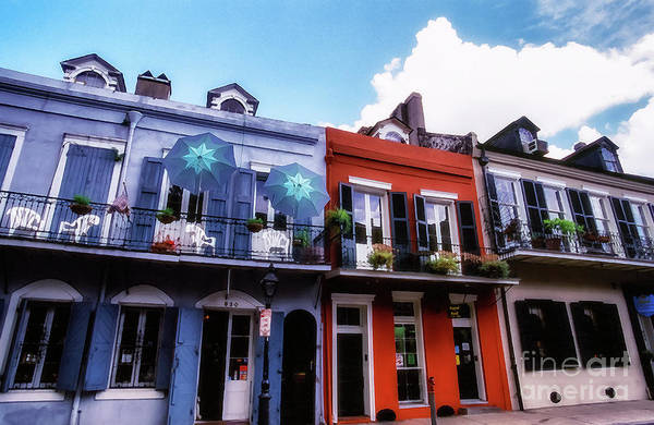 Photograph - The Colorful French Quarter by Thomas R Fletcher