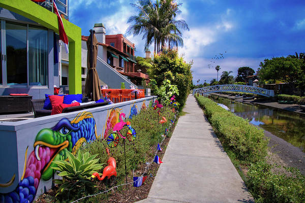 Photograph - The Colorful Side Of The Canal by Lynn Bauer