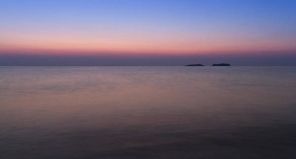Dawn At The Mediterranean Sea Art Print