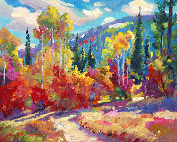 Painting - The Colors Of New Hampshire by David Lloyd Glover