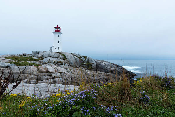 Atlantic Canada Wall Art - Photograph - The Colors Of Peggy by Everet Regal