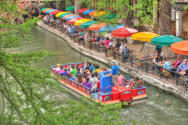 Photograph - Colorful Riverwalk Of San Antonio Texas - Paseo Del Rio by Gregory Ballos