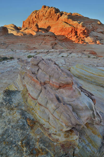 Photograph - The Colors Of Valley Of Fire At Sunrise by Ray Mathis