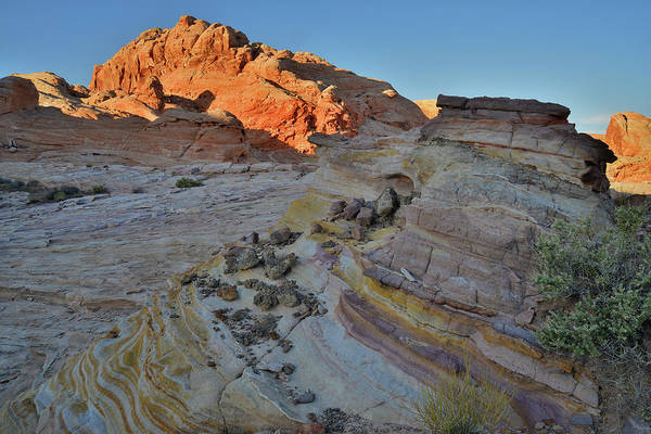 Photograph - The Colors Of Valley Of Fire State Park At Sunrise by Ray Mathis