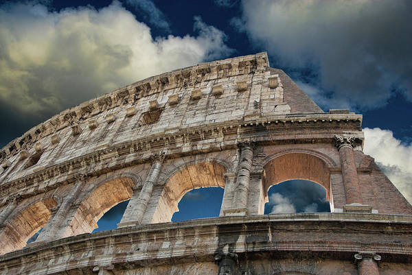 Photograph - The Colosseum by Harry Spitz