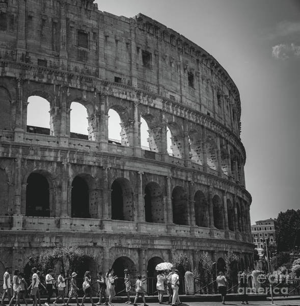 The Colosseum, Rome Italy Art Print