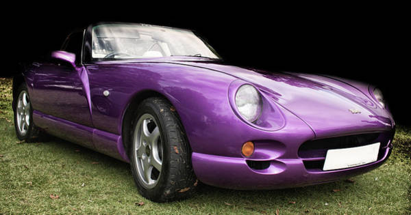 Horsepower Photograph - The Colour Purple by Martin Newman