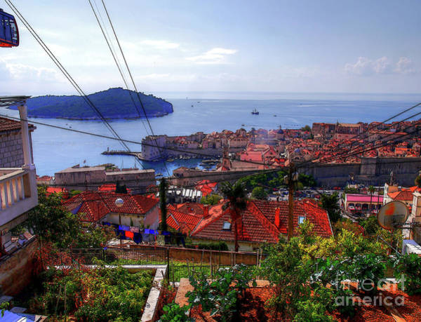 Photograph - The Colourful City Of Dubrovnik by Lance Sheridan-Peel