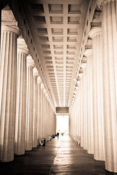 Soldier Field Photograph - The Columns At Soldier Field by Anthony Doudt