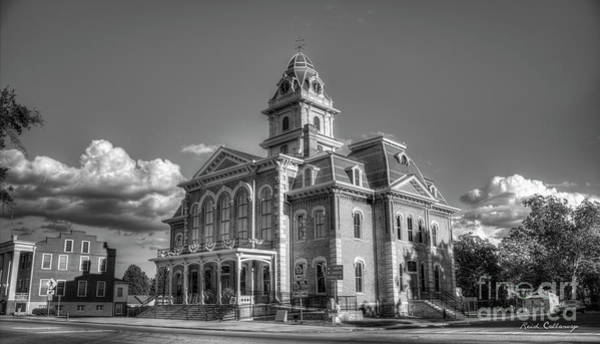 Photograph - The Comeback Historic Hancock County Courthouse Sparta, Georgia by Reid Callaway