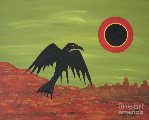Strange Land Painting - The Coming by JoNeL Art