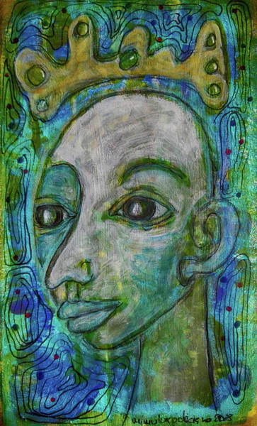 Mixed Media - The Coming Of Spring by Mimulux patricia No