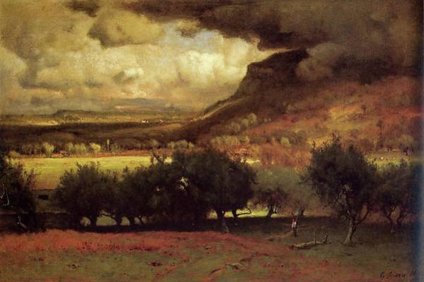 Painting - The Coming Storm by George Inness