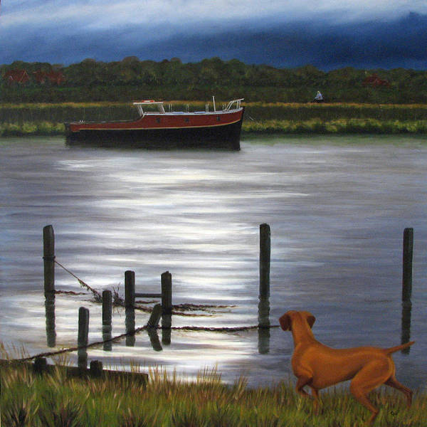 Wall Art - Painting - The Coming Storm by Graham Flowerdew