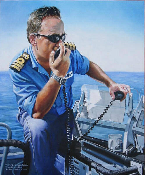 Painting - The Commander by Tim Johnson