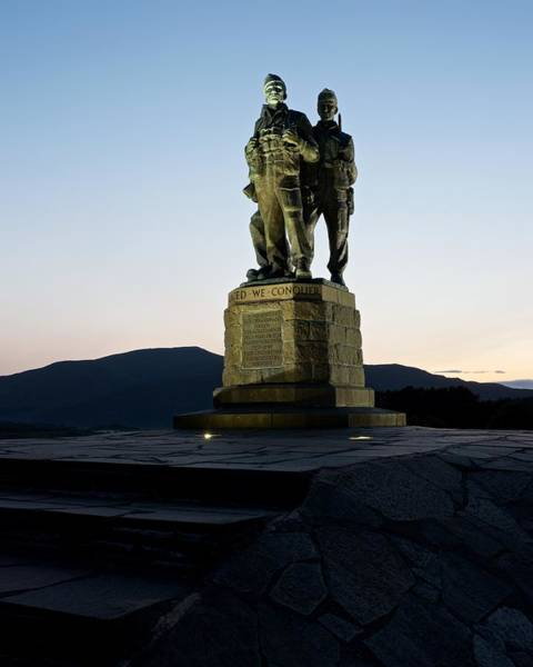 Photograph - The Commando Memorial by Stephen Taylor