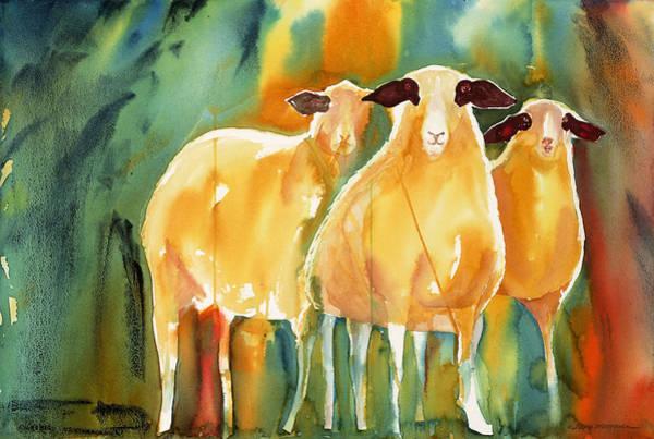 Painting - The Committee by Tara Moorman