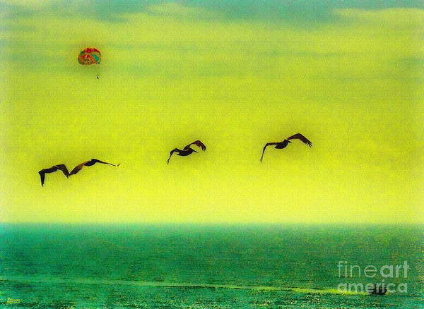 Photograph - The Concept Of Flying by Jeff Breiman