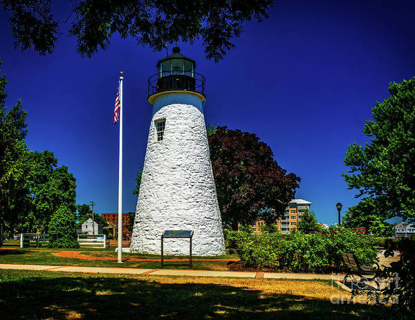 Photograph - The Concord Point Light by Nick Zelinsky