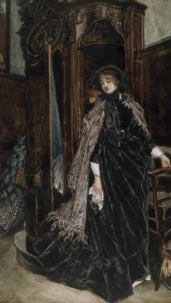 Painting - The Confessional by James Tissot