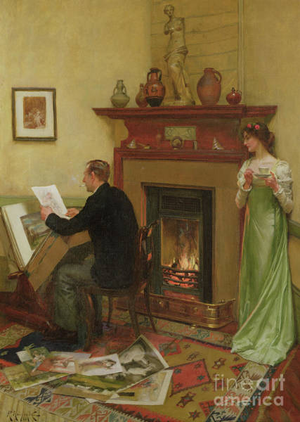Wall Art - Painting - The Connoisseur by Rowland Holyoake
