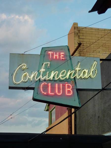 Photograph - The Continental Club by Gia Marie Houck