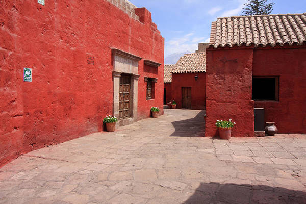 Photograph - The Convent Of Santa Catalina, Arequipa, Peru by Aidan Moran