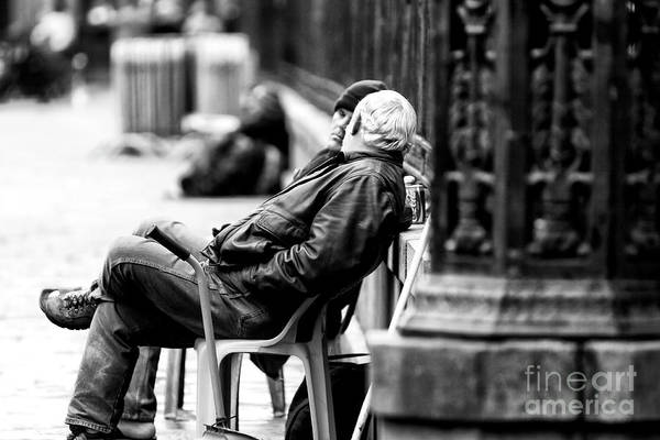 Photograph - The Conversation In New Orleans by John Rizzuto