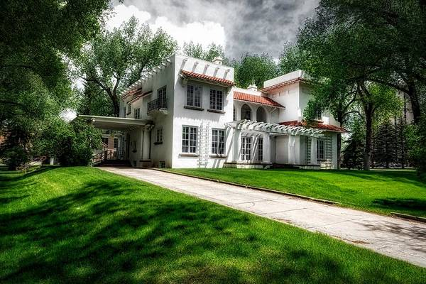Laramie Photograph - The Cooper House - University Of Wyoming by Mountain Dreams