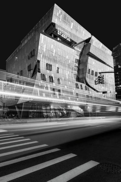 Photograph - The Cooper Union Nyc Bw by Susan Candelario