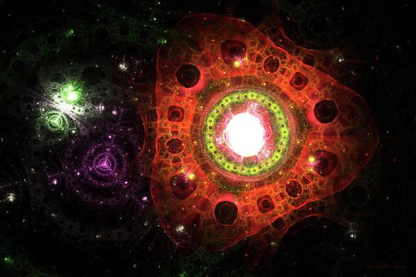 Julian Digital Art - The Core by Julian Ray