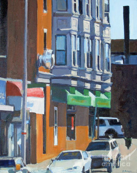 Painting - The Corner by Deb Putnam