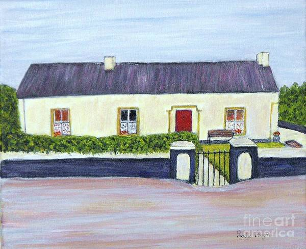 Churn Painting - The Cottage by Bridie  Smyth