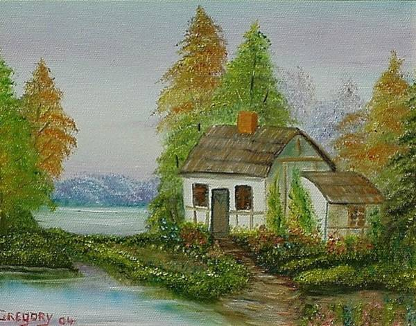 Painting - The Cottage by Gene Gregory